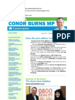 News Bulletin From Conor Burns MP #79