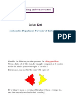 Jarkko Kari- The tiling problem revisited