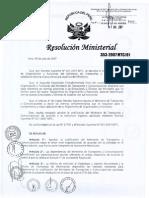 Directiva Mtc Codificacion Oficinaas