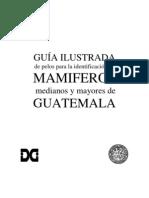 Guía Ilustrada de Pelos para la Identificación de Mamíferos Medianos y Mayores de Guatemala