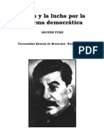 Grover Furr - Stalin y La Lucha Por La Reforma Democratic A