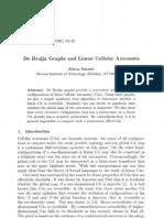 Klaus Sutner- De Bruijn Graphs and Linear Cellular Automata