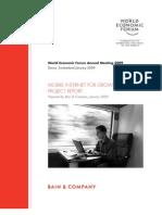 WEF 2009 Mobile Internet