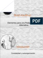 8 Eleme Para 1 Ped Soc Alt Stuart Kauffman