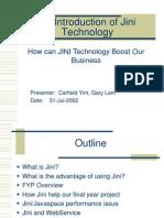 Jini+Presentation