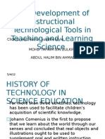 History of Instructional Tecnology