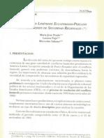 El conflicto limítrofe ecuatoriano-peruano y los mecanismos de seguridad regionales - María José Prado, Lorena Pujó, Mercedes Salusso