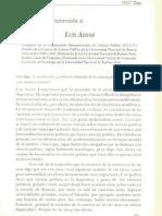 Entrevista a Luis Aznar