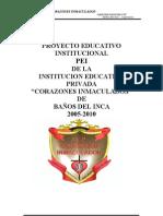 PROYECTO EDUCATIVO INSTITUCIONAL2007