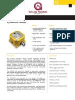 H2S Address Able Transmitter S4100T_DATA