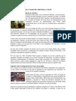 CUATRO VIAJES DE CRISTOBAL COLÓN