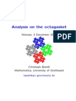 Christoph Bandt- Analysis on the octagasket
