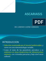 10. Ascariasis - Mc. Lorenzo Castro Germana