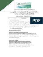II Simpósio Internacional de Responsabilidade Social das Organizações (SIRSO)