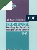 AP1995 Macroeconomics RE
