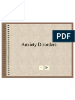 Anxiety Disorder Lecture