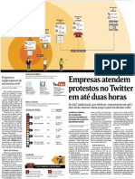 Materia Folha Twitter