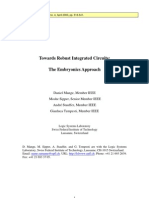 Daniel Mange, Moshe Sipper, André Stauffer and Gianluca Tempesti- Towards Robust Integrated Circuits