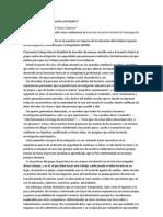 La docencia como investigación participativa