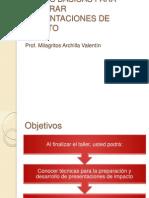 REGLAS BÁSICAS PARA PREPARAR PRESENTACIONES DE IMPACTO