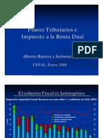 Alberto Barreix Pilares Fiscales y Renta Dual