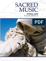 Sacred Music, 135.1, Spring 2008; The Journal of the Church Music Association of America