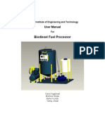 Biodeisel Processor Manual