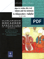 Yahya Michot, Wisdom and Its Sciences in Khojazāda's Tahāfut