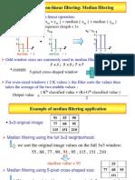 Non Linear Filtering