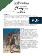 Study Guide - Paul Revere