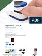 Oxyi LED fingertip oximeter