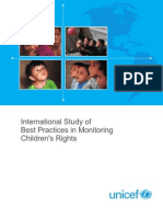 International Study of Best Practices in Monitoring Childrens Rights