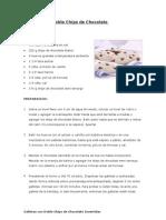 Galletas Con Doble Chips de Chocolate