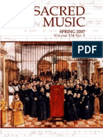 Sacred Music, 134.1, Spring 2007; The Journal of the Church Music Association of America