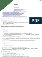 Tips and Tricks for Using C++ I_O Output)