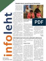Infoleht 14 dets 2011