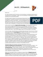Nieuwsbrief.VVD Bergambacht december 2011