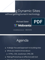 Webvanta Building Dynamic Sites