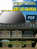 Proposal Renovasi Masjid Ar-Rahman