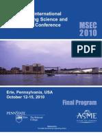 MSEC2010FinalProgram