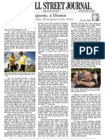 Article in WSJ on IA- 10.27.09-Reprint