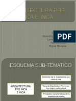 Arquitectura Pre Inca e Inca Diapositiva Completa