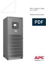 Galaxy 5000 Installation Guide