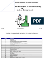 Facilities Managers Guide to Auditing the Indoor Environment
