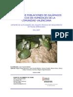 Control galápagos exóticos en la Comunidad Valenciana (2007)