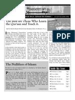 E-Newsletter - Newsletter - ALBASEERAH.ORG - The Quraan - The Greatest Book