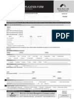 Birla Sun Life Tax Plan Application Form