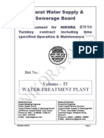 Volume IV Filter Plant Dtp