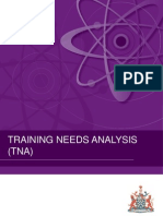 2011July Training Needs Analysis 4Aug