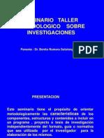 Taller Metodologico Investigacion